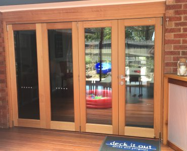 External door - bifold doors