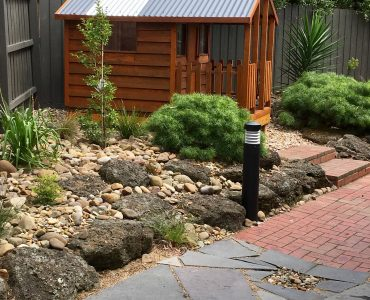 Pebbles Backyard Landscaping