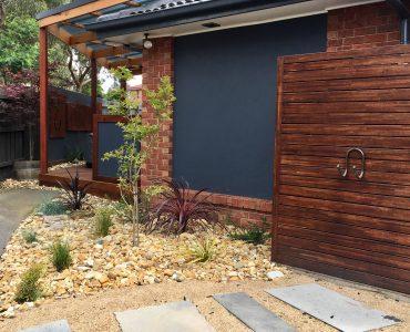 Backyard Terrace Landscaping