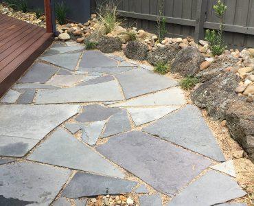 Backyard Stone Landscaping